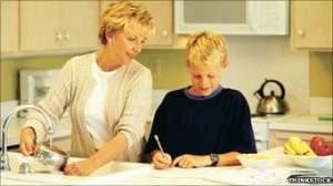 paent and child homework