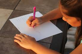 hand writing - wrong hand grip